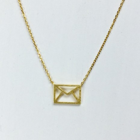 Envelope Necklace