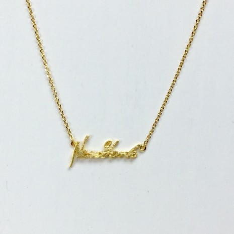 Initial New York Necklace