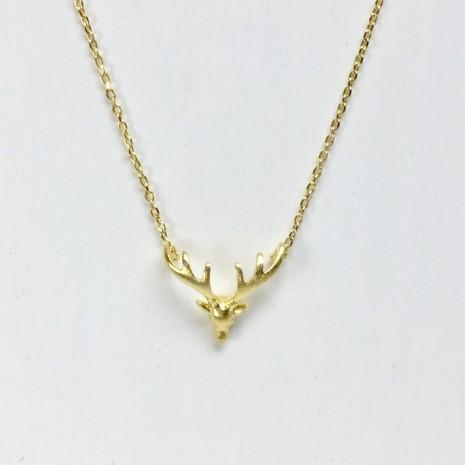 Reindeer Antler Necklace