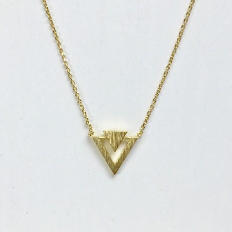 Triangle Chevron Necklace