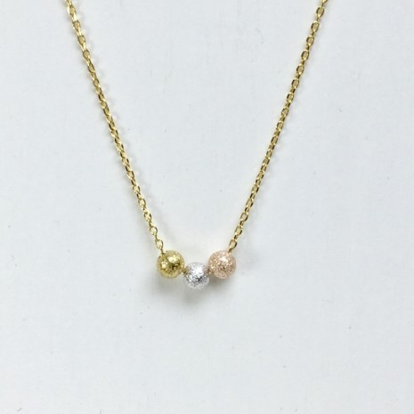 Three Ball Necklace