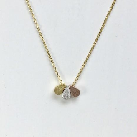 Three Tear Drop Necklace