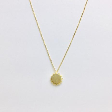 Sun Disc Necklace