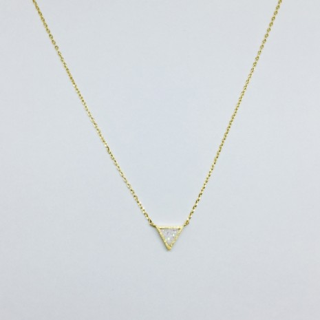 Triangle Twinkle Necklace