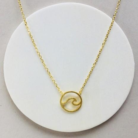 Sea Wave Necklace