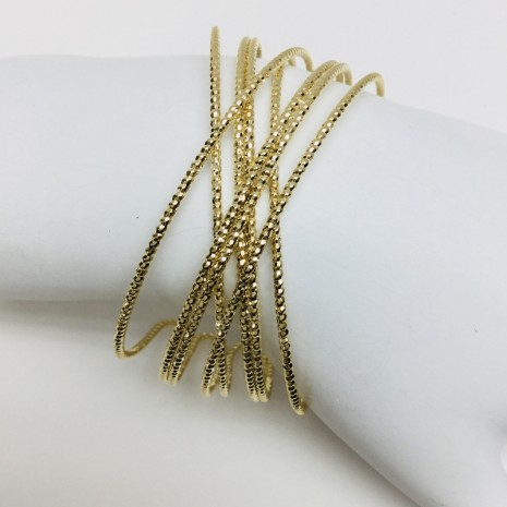 Crisscross Cuff Bracelet