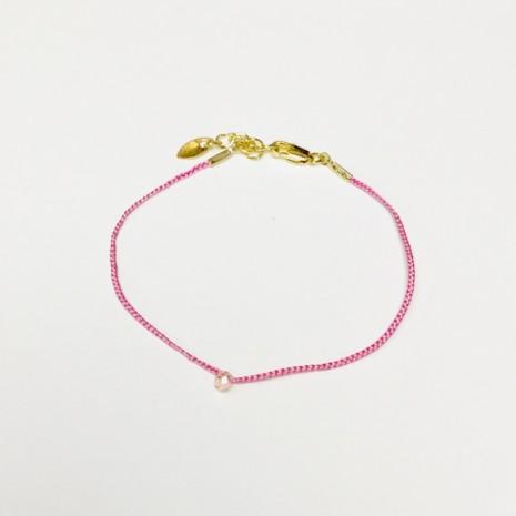 Gemstone Braided Bracelet