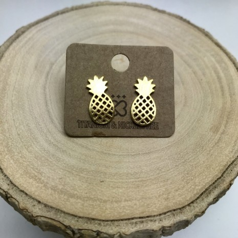 Pineapple Stud Earrings