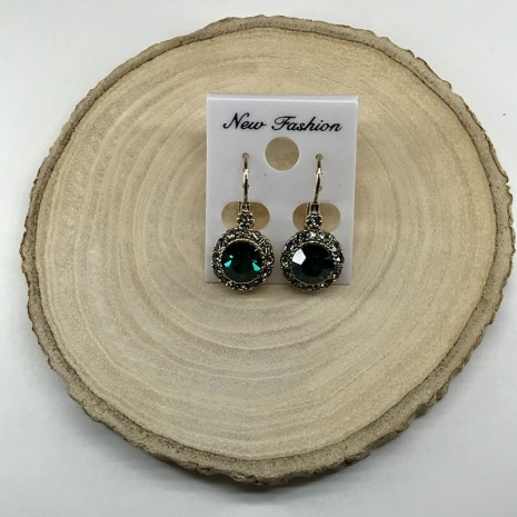 Surround French Wire Earrings
