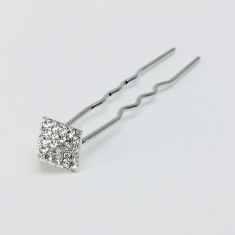 Diamond Shape Hair Stick(8cm)