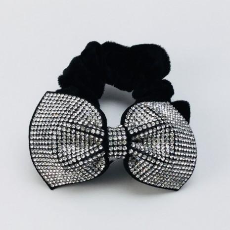 Bow Velvet Scrunchie