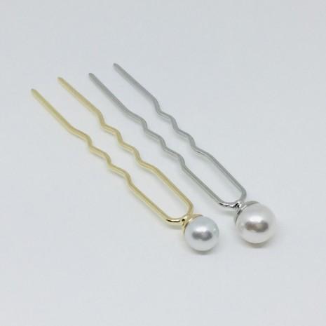 Circle Pearl Hair Stick(9cm)