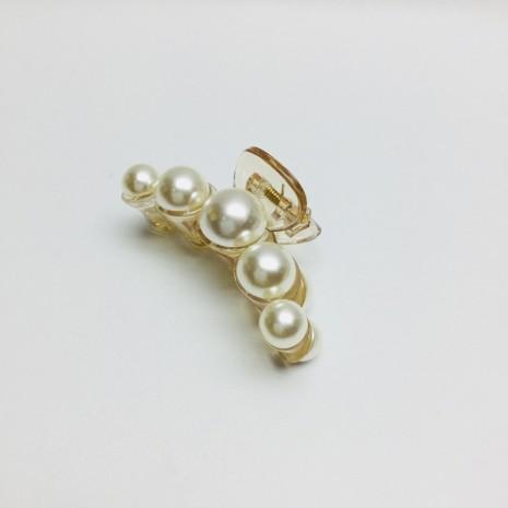 Medium Size Pearl Hair Clip