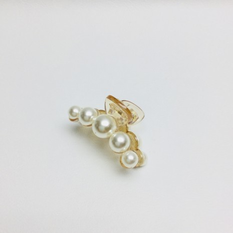 Small Size Pearl Hair Clip