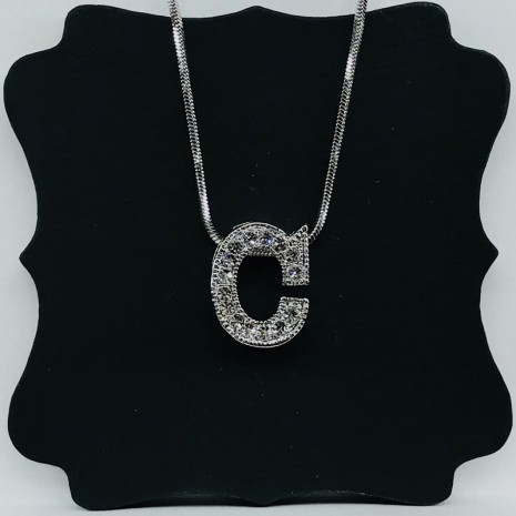 Initial C Necklace