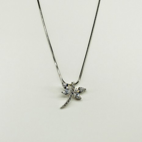 Cubic Butterfly Necklace