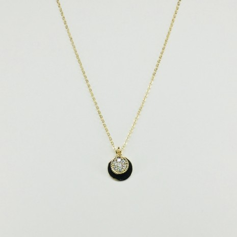 Circle Cubic Necklace