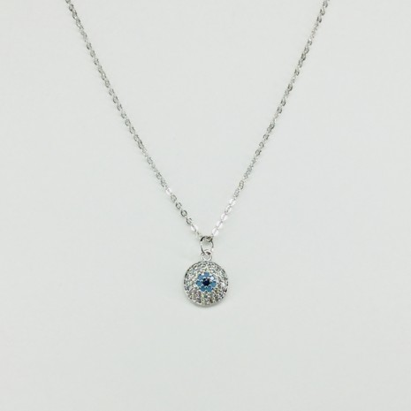 Evil Eye Cubic Necklace
