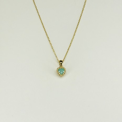 Heart Cubic Necklace