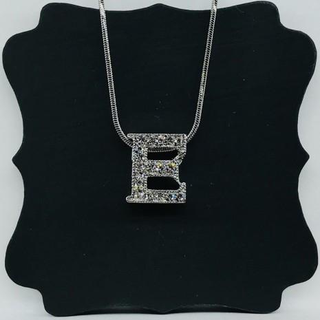 Initial E Necklace