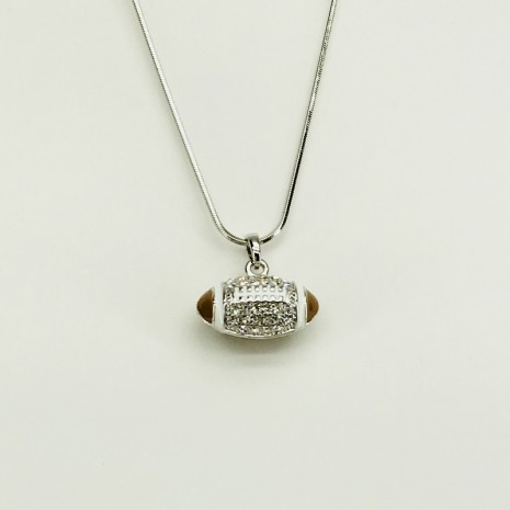 foot Ball Necklace