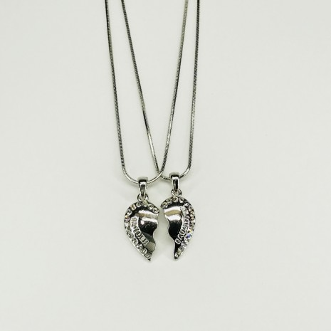 Mother&Daughter Heart Necklace