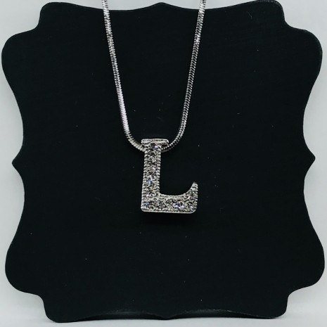 Initial L Necklace