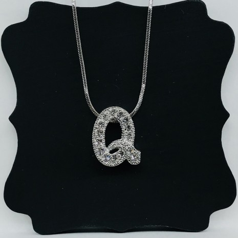 Initial Q Necklace