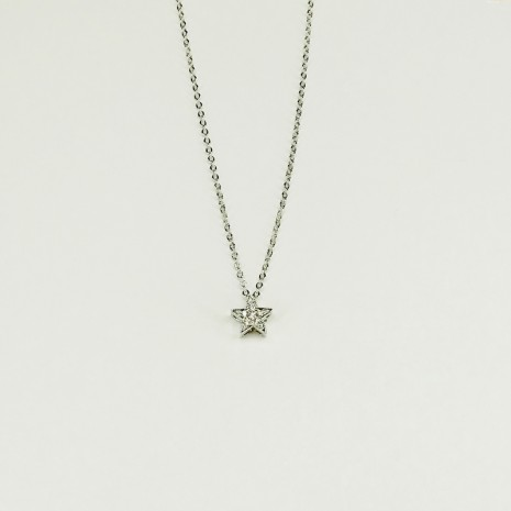 Cubic Star Necklace
