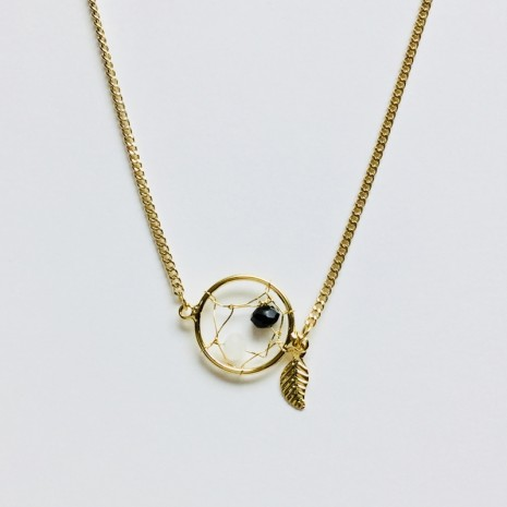 Dreamcatcher Bead Necklace
