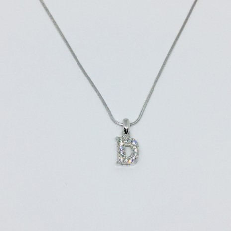 Small Size Initials D Necklace