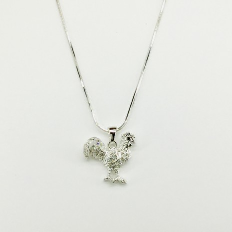 Rooster Necklace
