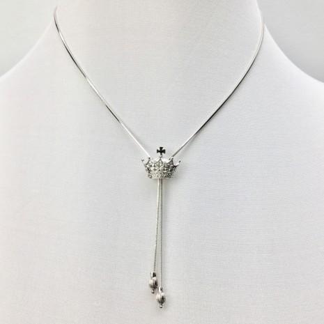 Crown Slider Necklace